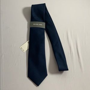 Navy Blue Michael Kors Tie New With Tags